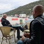 Valbiska, otok Krk, čekamo trajekt za Cres