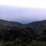Nacionalni park negdje između Vlore i Sarande. Prelijep pogled na Jonsko more